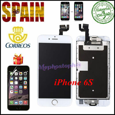Pantalla Tactil Completa iPhone 6S LCD frontal Display Botón Home+Altavoz+Cámara