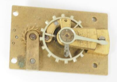 Antique Clock Platform Lever Balance Platform Escapement Carriage Mantel Clock M