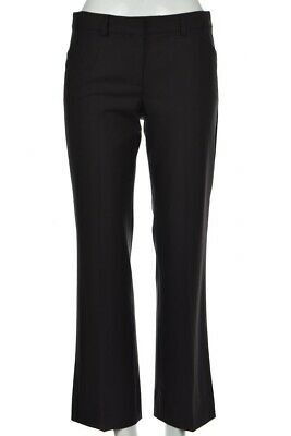 Theory Womens Pants Size 2 Brown Wool Career Dress Trousers Straight Leg