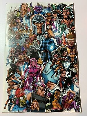 X-Men 1 2019 Mark Bagley Every Mutant Ever Variant Dx