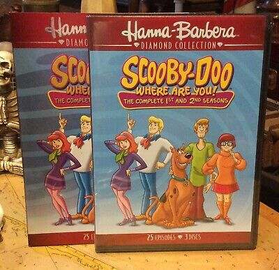 Scooby-Doo, Where Are You - Seasons One & Two (DVD, 2017, 3-Disc Set)