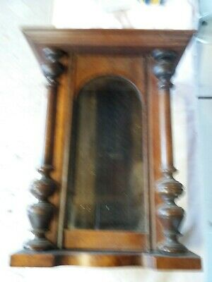 Antique Vienna Wall Clock Case