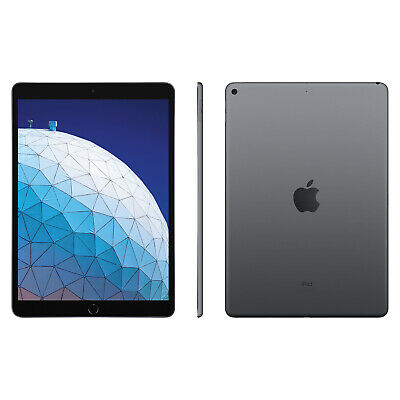 New Apple iPad Air 3rd Generation 64GB 10.5 Inch WiFi Space Grey - 2019 Model