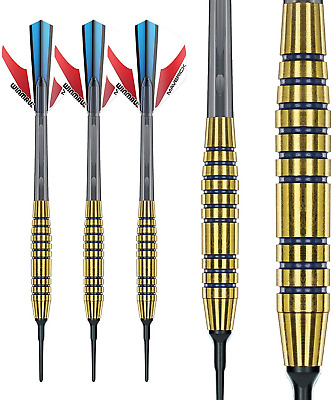 Typhoon 2 Softip Brass Professional Darts with Flights and Stems