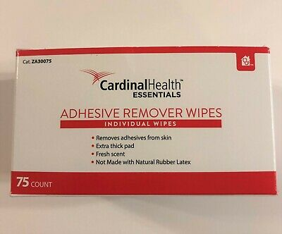 Adhesive Remover Wipes by Cardinal Health Essentials