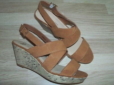 """""""NEW LOOK"""" Older Girls Wedge Sandals Size UK 6 - NEW"""