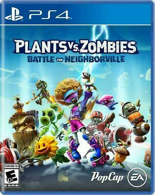 Plants vs Zombies Battle for Neighborville (Sony PlayStation 4, 2019) PS4 NEW