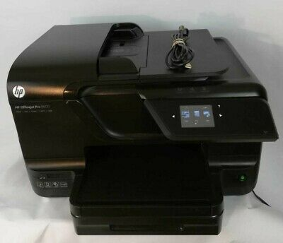 HP OfficeJet Pro 8600 N911 All-In-One Inkjet Printer TESTED Works Great NEW INK
