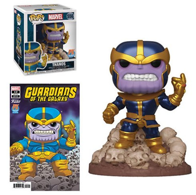 Funko Pop! Guardians of the Galaxy Marvel Heroes Thanos Snap PX In Stock
