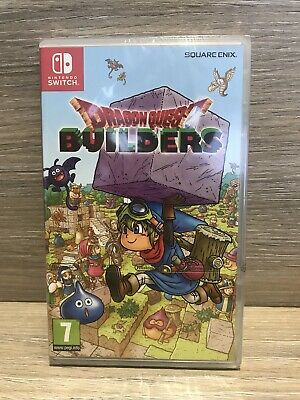 New Sealed Nintendo Switch Dragon Quest Builders