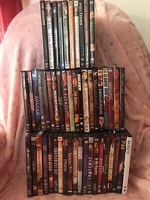 WHOLESALE LOT OF 50 BRAND NEW DVD'S - AS PICTURED - $1 Each- Pick What U Want!!