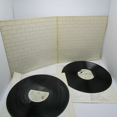 Pink Floyd The Wall LP 1979 Columbia 36185 No Print on Cover 1st US Vinyl=EX