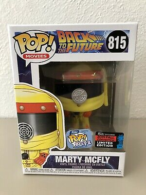 Funko POP! Movies Back To The Future Marty McFly 2019 NYCC Funko Exclusive New