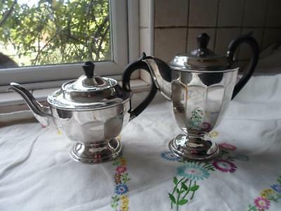 Viners of Sheffield Silver Plated Teapot and Hot Water Jug