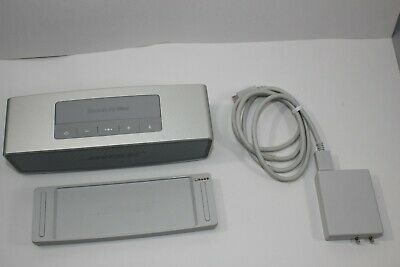 Bose SoundLink Mini II 2 Bluetooth Speaker Wireless Portable Stereo Silver
