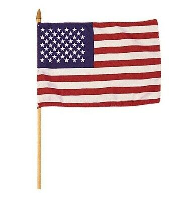 Valley Forge 4 X 6 Us American Flags  3 Pack