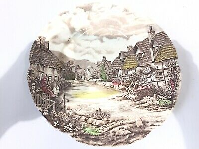 Johnson Brothers Olde English Countryside Multi Color Dinner Plate