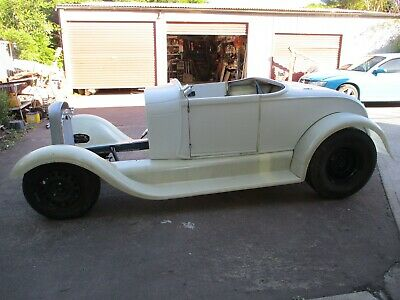 Ford 1928 model  'A' Roadster hotrod, rolling project