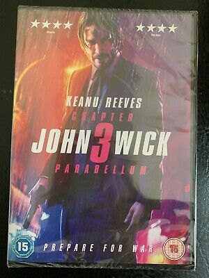 John Wick: Chapter 3 - Parabellum [2019] (DVD) Keanu Reeves, Halle Berry (New)