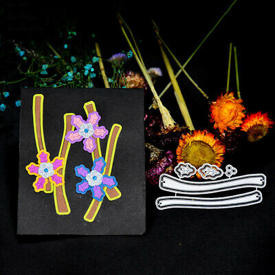 Carbon Steel Flower Shape Cutting Dies for DIY Scrapbooking Album Card Making