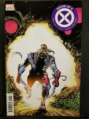 House Of X #6   Camuncoli Omega Red Foreshadow Variant      Powers Of X    Xmen