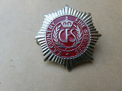 Old South Australian Country Cfs Fire Service Cap Badge