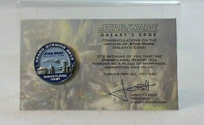 Disney DLR Cast Exclusive Pin Star Wars Galaxy's Edge Grand Opening 2019
