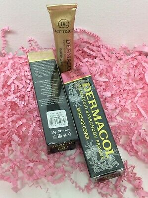 2x Dermacol High Cover Makeup Foundation Waterproof SPF-30 Hypoallergenic #211
