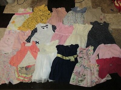 Baby Girls Clothes Bundle 3-6 Months 19 Items Mainly NEXT Party Dresses