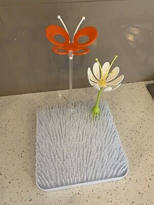Boon White Drying Rack & Accessories