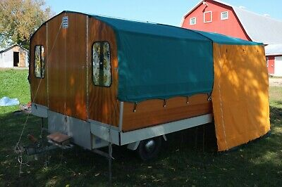 Rare 1966 Lillebror (Little Brother) Chateau Mobile Camping Trailer