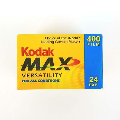 Kodak Max Versatility 400 Film 24 Exposures 35mm Color Film Expired 2006