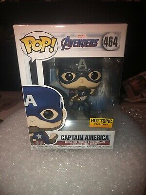 Funko Pop! Avengers Endgame Captain America Hot Topic Exclusive