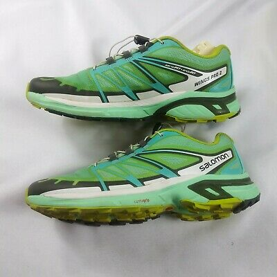 SALOMON WINGS PRO 2 mens Trail Running Shoes mint green