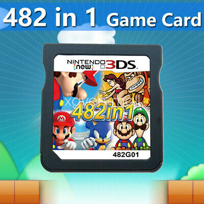 482 In 1 Video Game Cartridge Console Card For Nintendo NDS 2DS 3DS NDSI NDSL