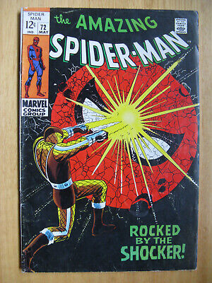 Amazing Spiderman #72, The Shocker - 1969.