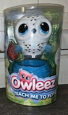 NEW Owleez, Flying Baby Owl Interactive Toy with Lights & Sounds-  Ships Fast