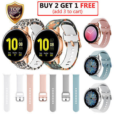 For Samsung Galaxy Watch Active 42mm 2 40mm 44mm Silicone Band Milanese Magnetic