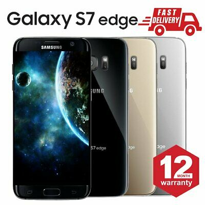 SAMSUNG GALAXY S7 Edge 32GB Unlocked 4G Android Mobile Phone Various Conditions
