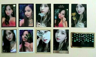 TWICE - 8th mini album FEEL SPECIAL Official Photocard Photo Card  - Mina ver.