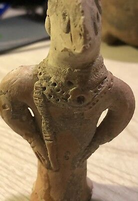 Elamite Empire Rare Female Terracotta Idol 1900BC COA