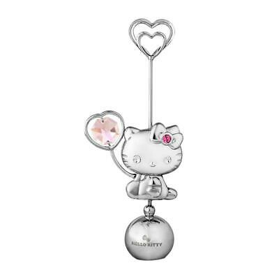 CRYSTOCRAFT Hello Kitty Crystal Card & Photo Holder with SWAROVSKI Crystals