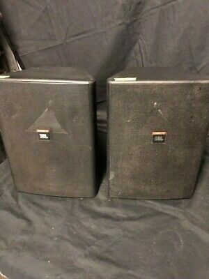 JBL Control 28 Two Way Full Range Speakers x 2 Used