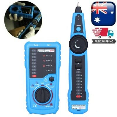 Bside FWT11 RJ11 RJ45 Telephone Network Wire Tracker LAN Cable Tester Cable