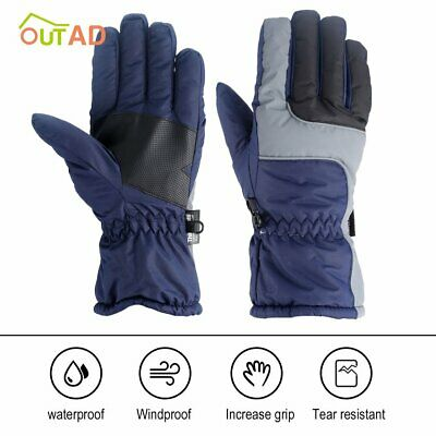 -30℃ Ski Winter Warm Gloves Snow Snowboard Thermal Wind Waterproof Outdoor  WF