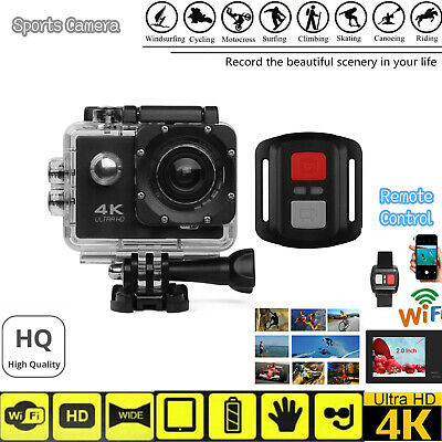 SJ9000 Ultra HD 4K Wifi Remote Control Action Camera Ski Sports DVR Camcorders
