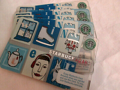 5 - STARBUCKS CARDS SEATTLE SEAHAWKS 12 th FLAG 2019 NO VALUE NEW