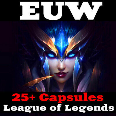 LOL League of Legends EUW Account 25+ Champion-Kapsel Smurf Unranked Level 30 PC