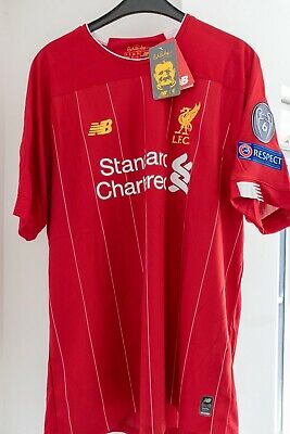 Liverpool Home Shirt 2019/20 BNWT Size X Large