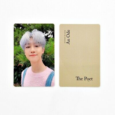 [SEVENTEEN] An Ode 독 : Fear Official Photocard / The Poet Ver. A-1. THE 8